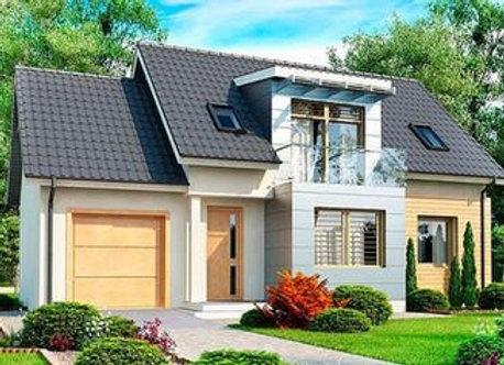 """Каменный дом """"Д-1"""" - 155.1 кв.м."""