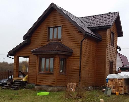Дом и бруса 8х9