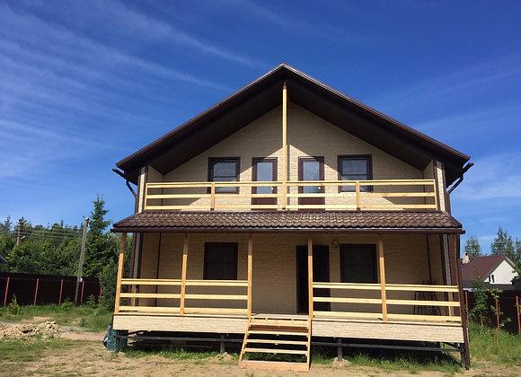 Построенный дом 53