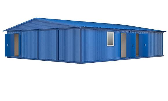 Модульное здание №9 (98 кв.м.)