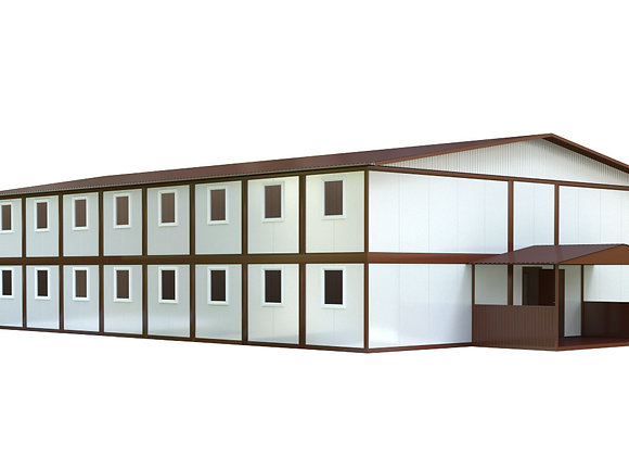 Здание из сэндвич-панелей №9 (604 кв.м.)