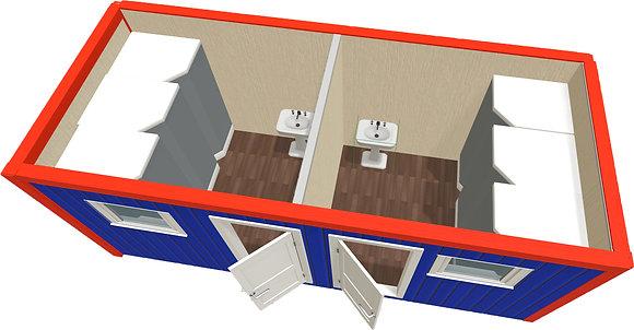 БК с раздельными туалетами 5 х 2,4