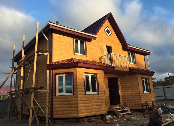 Построенный дом 9