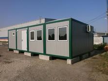 Модульное здание АБК