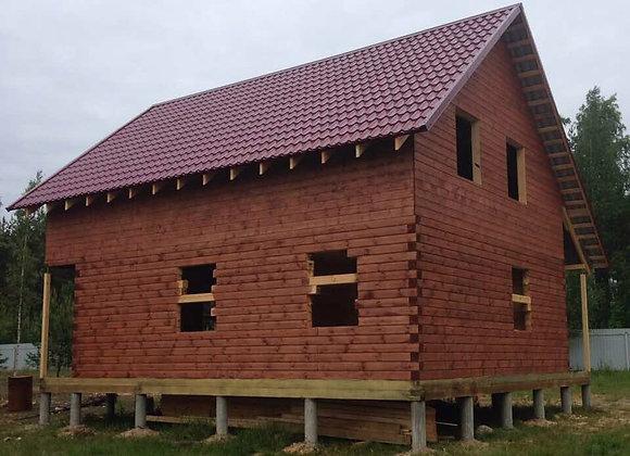 Построенный дом 23