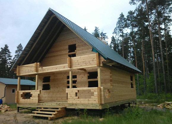 Построенный дом 24