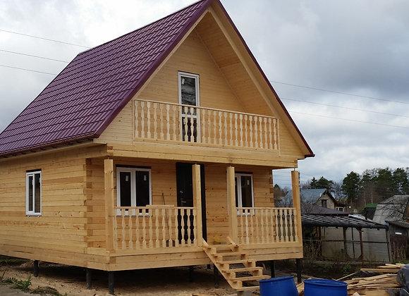 Построенный дом 55