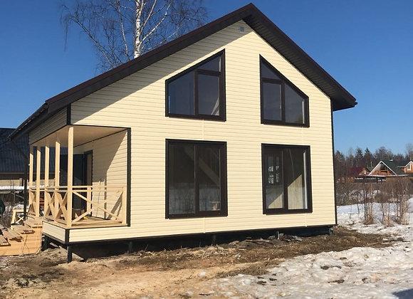 Построенный дом 38