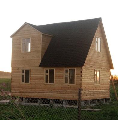 Дом из бруса 5х7