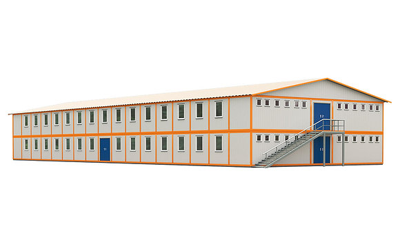 Здание из сэндвич-панелей №11 (1175 кв.м.)