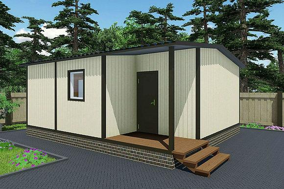 3-Модульный дом BKDD 3-4 (43,2м2)