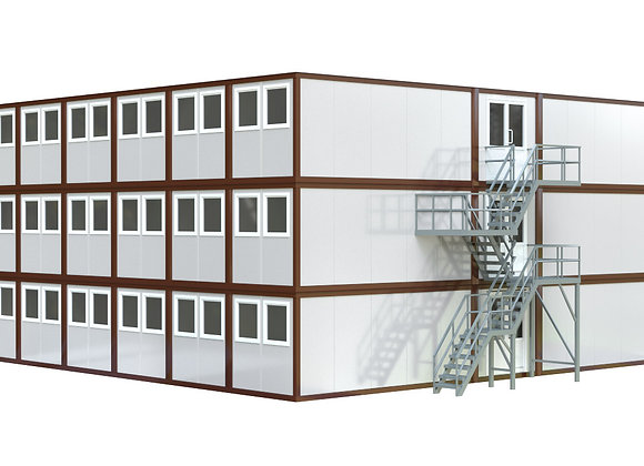Здание из сэндвич-панелей №8 (622 кв.м.)