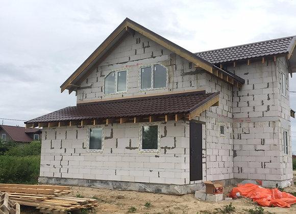 Построенный дом 25
