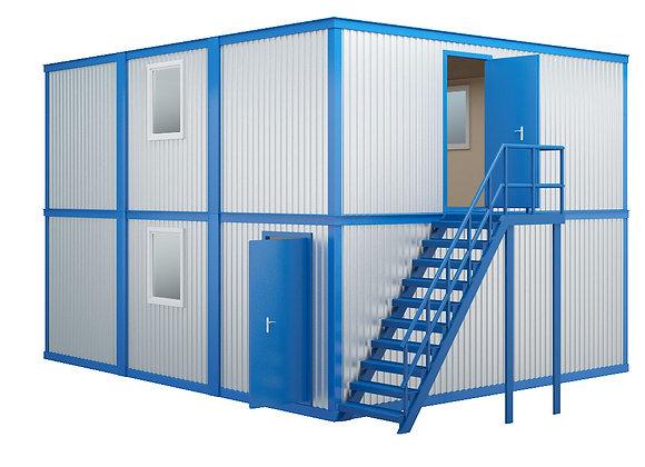 Модульное здание №4 (86,4 кв.м.)