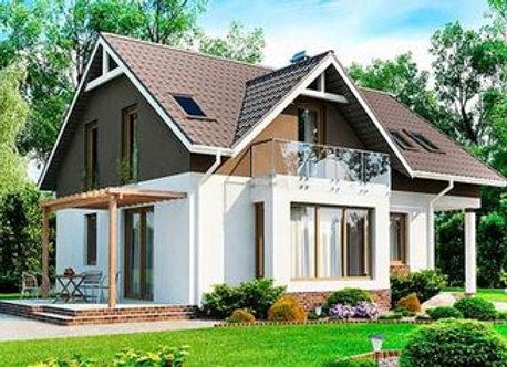 """Каменный дом """"Д-2""""  - 157.1кв.м."""
