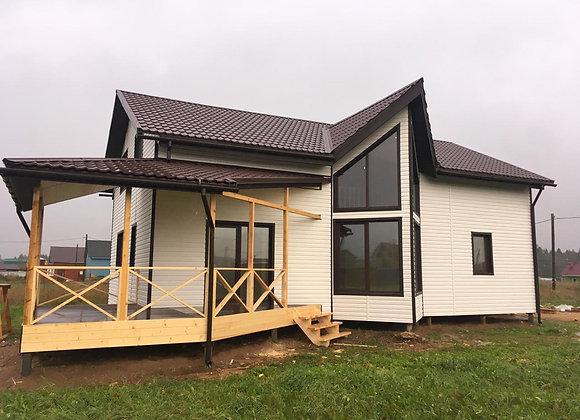 Построенный дом 47