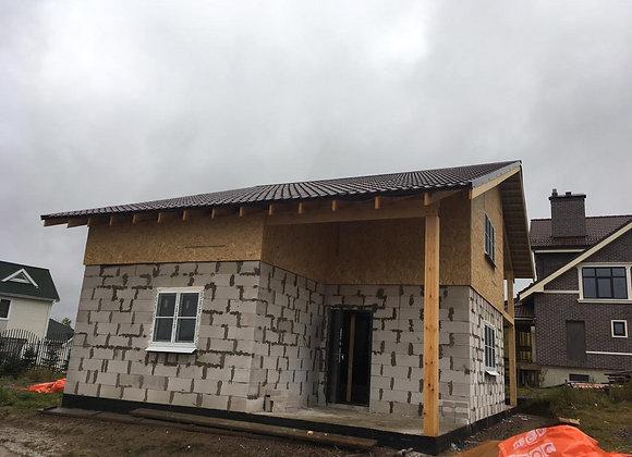 Построенный дом 48