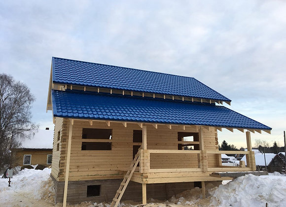 Построенный дом 37