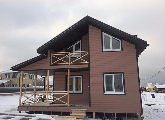Построенный дом 13