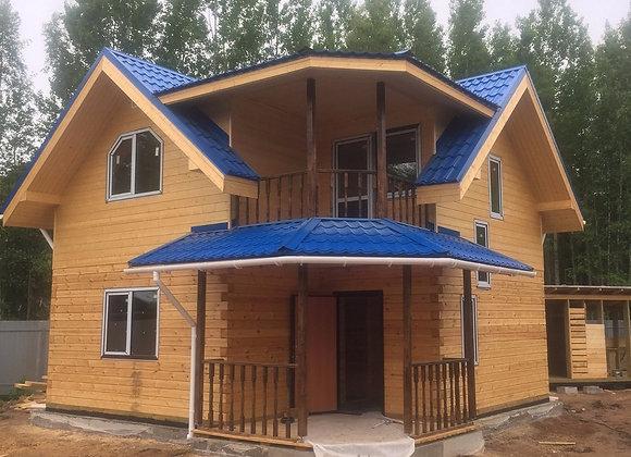 Построенный дом 22