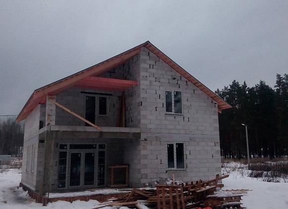 Построенный дом 35