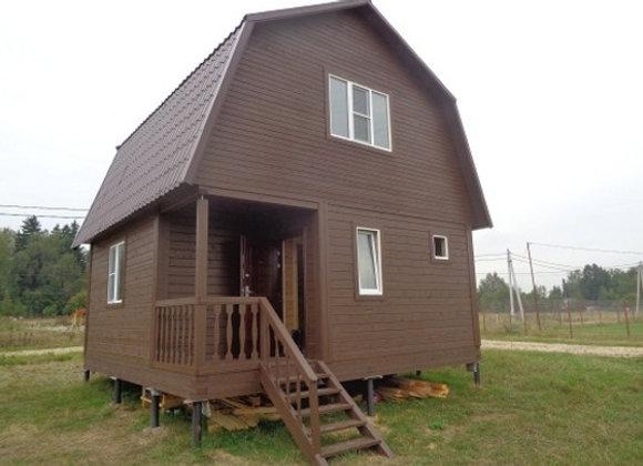 Построенный дом 57