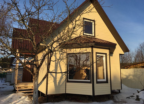 Построенный дом 34