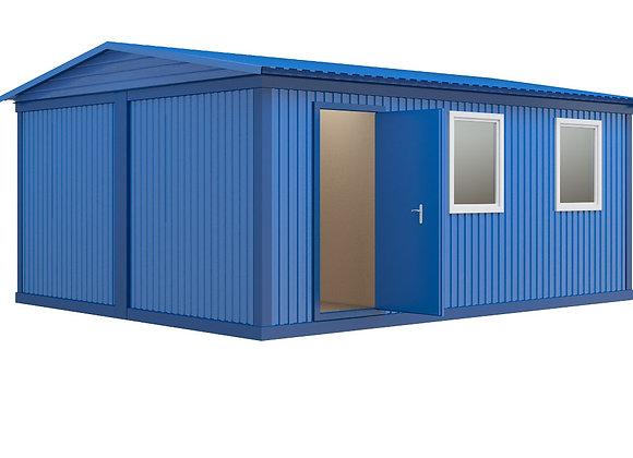 Модульное здание №1 (28,8 кв.м.)Модульное здание №1 (28,8 кв.м.)