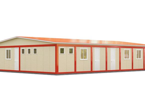Здание из сэндвич-панелей №7 (201,6 кв.м.)