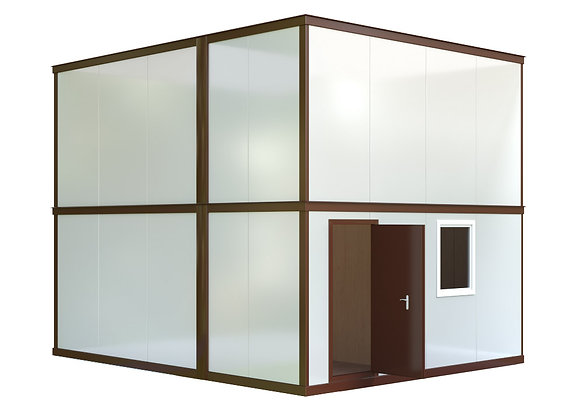 Здание из сэндвич-панелей №2 (57,6 кв.м.)
