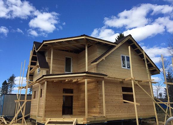 Построенный дом 19