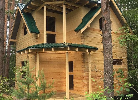 Построенный дом 28