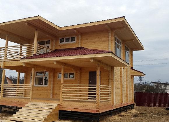 Построенный дом 56