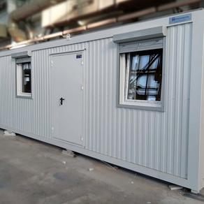 Технический блок-контейнер 2,35 х 12 x 2,59 м