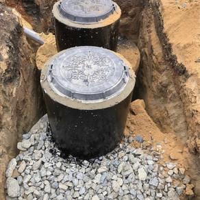 Очистной бетонный септик