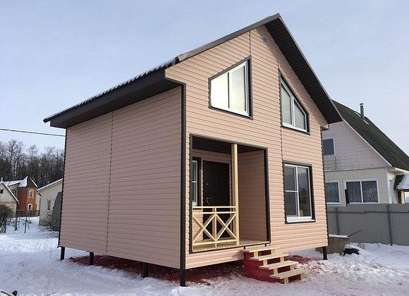 Построенный дом 36