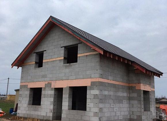 Построенный дом 32