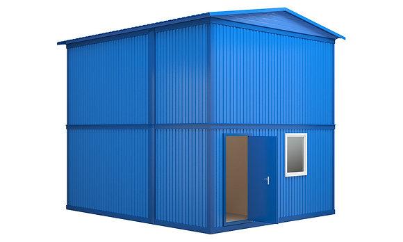 Модульное здание №3 (57,6 кв.м.)