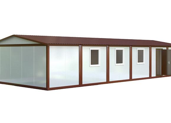 Здание из сэндвич-панелей №4 (88,2 кв.м.)