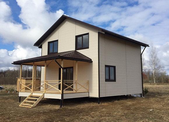 Построенный дом 20