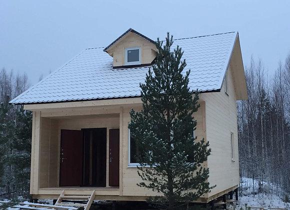 Построенный дом 12