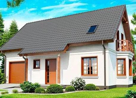 """Каменный дом """"Д-6""""  - 175,2 кв.м."""