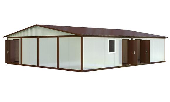 Здание из сэндвич-панелей №5 (115,2 кв.м.)