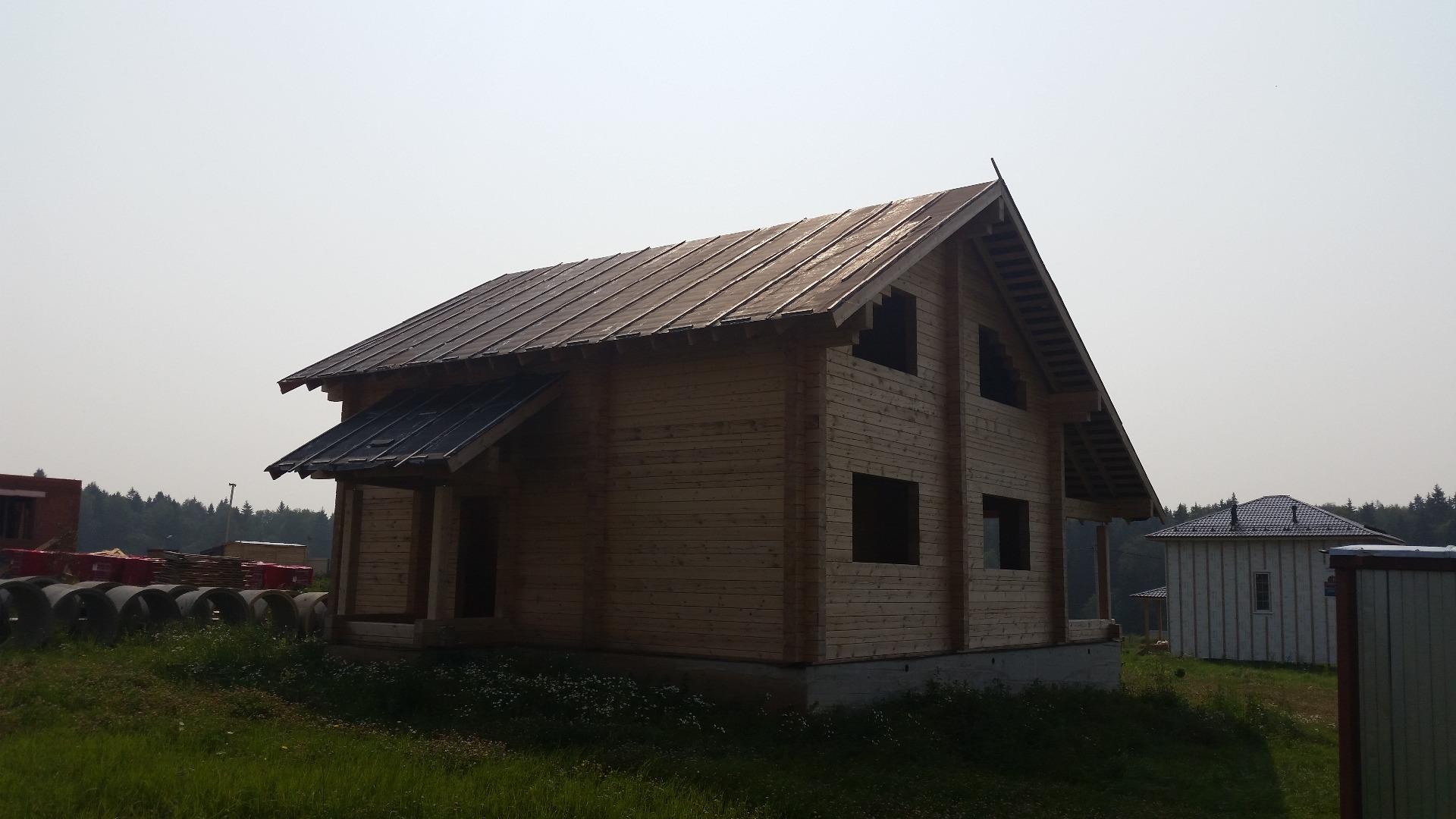 Дом из бруса 8х11