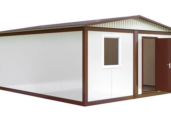 Здание из сэндвич-панелей №1 (28,8 кв.м.)