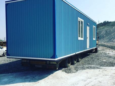 Блок-контейнер с электрощитовой