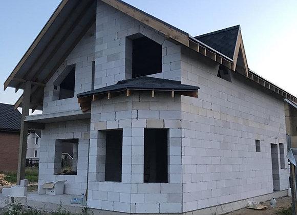 Построенный дом 44