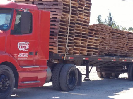 Custom Pallets; New, Used, Heat treated and fumigated Pallets       713 398 2427 info@packagingone.n