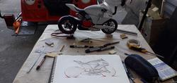 Stage- Prototype Ducati Panigale