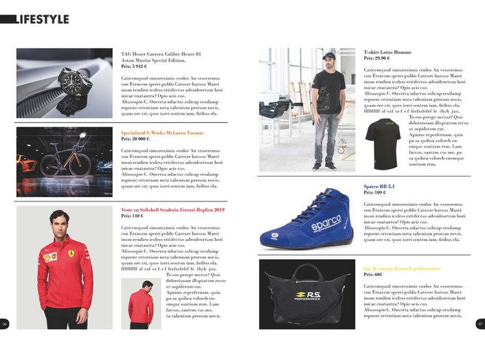Maquette magazine étudiant